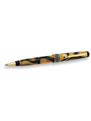 Długopis AFRIKA korpus i skuwka z żywicy o wzorze