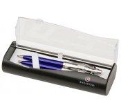9308 Zestaw (długopis + ołówek) SGC1 Blue / Chrome